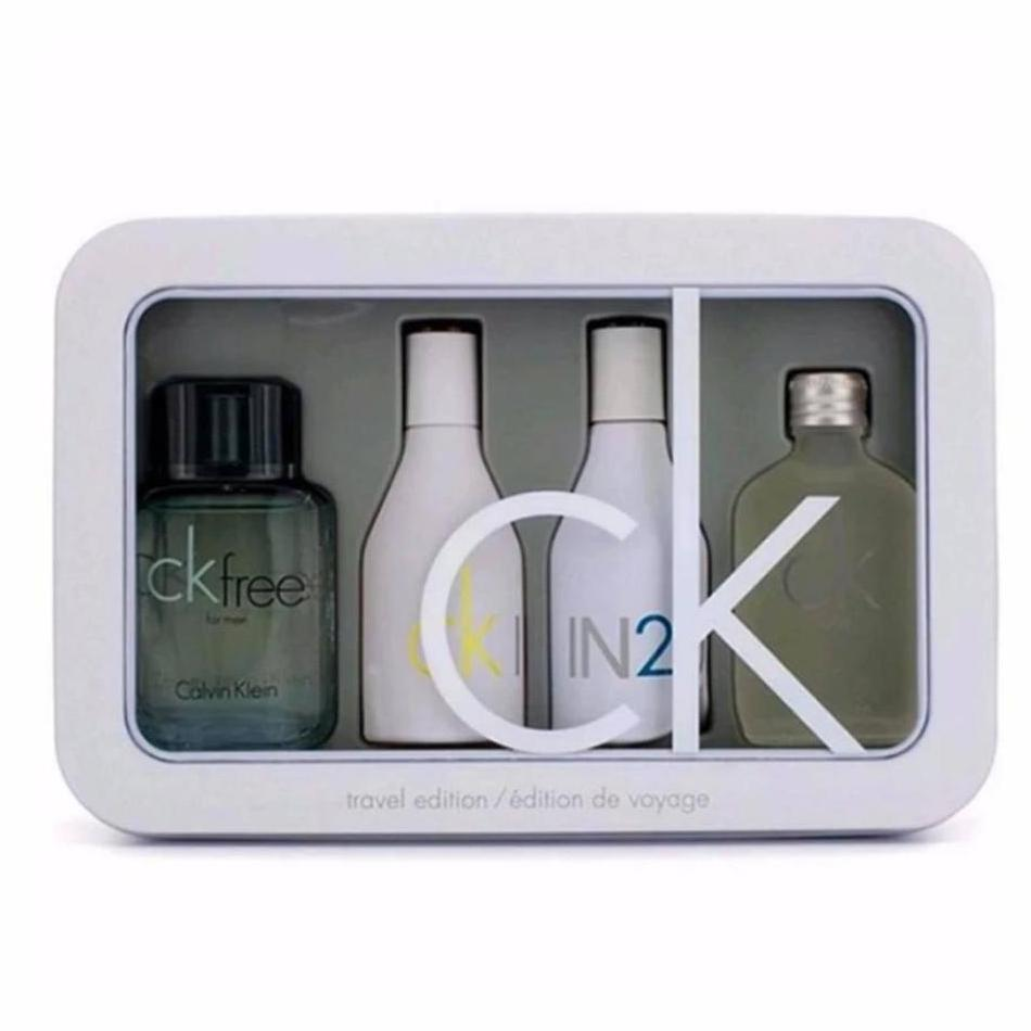 Calvin Klein CK Set Travel Edition Miniature Set of 4