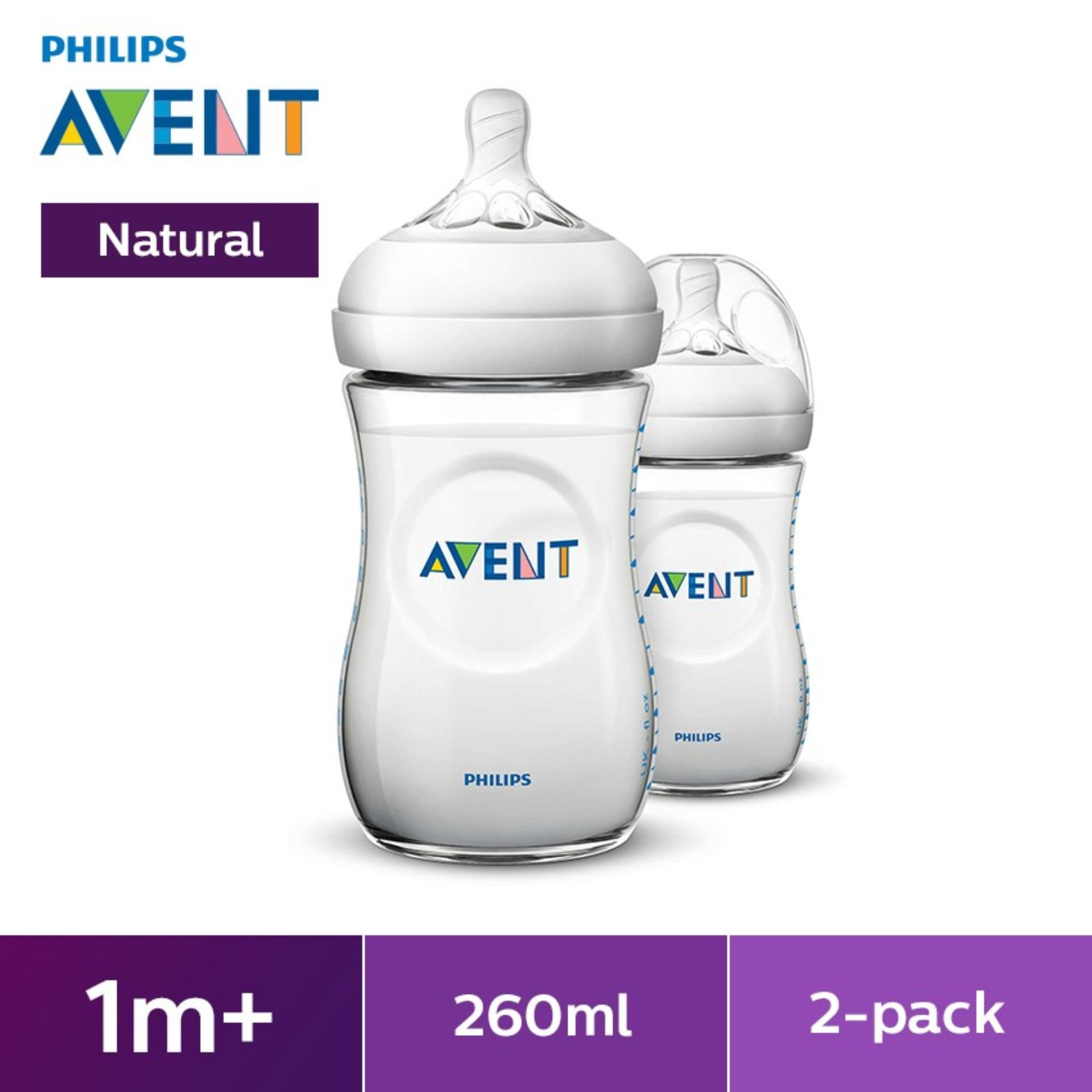 PHILIPS AVENT NATURAL 9OZ BOTTLE TWIN PACK