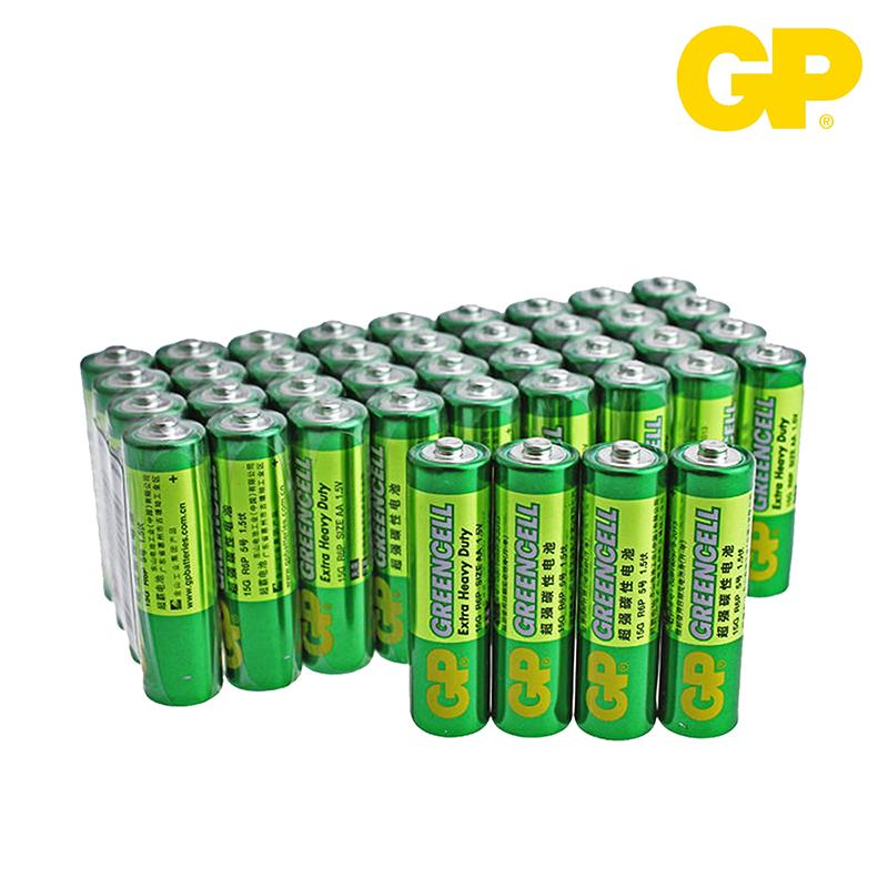 GP Greencell Batteries 'AA' (40pcs/box)