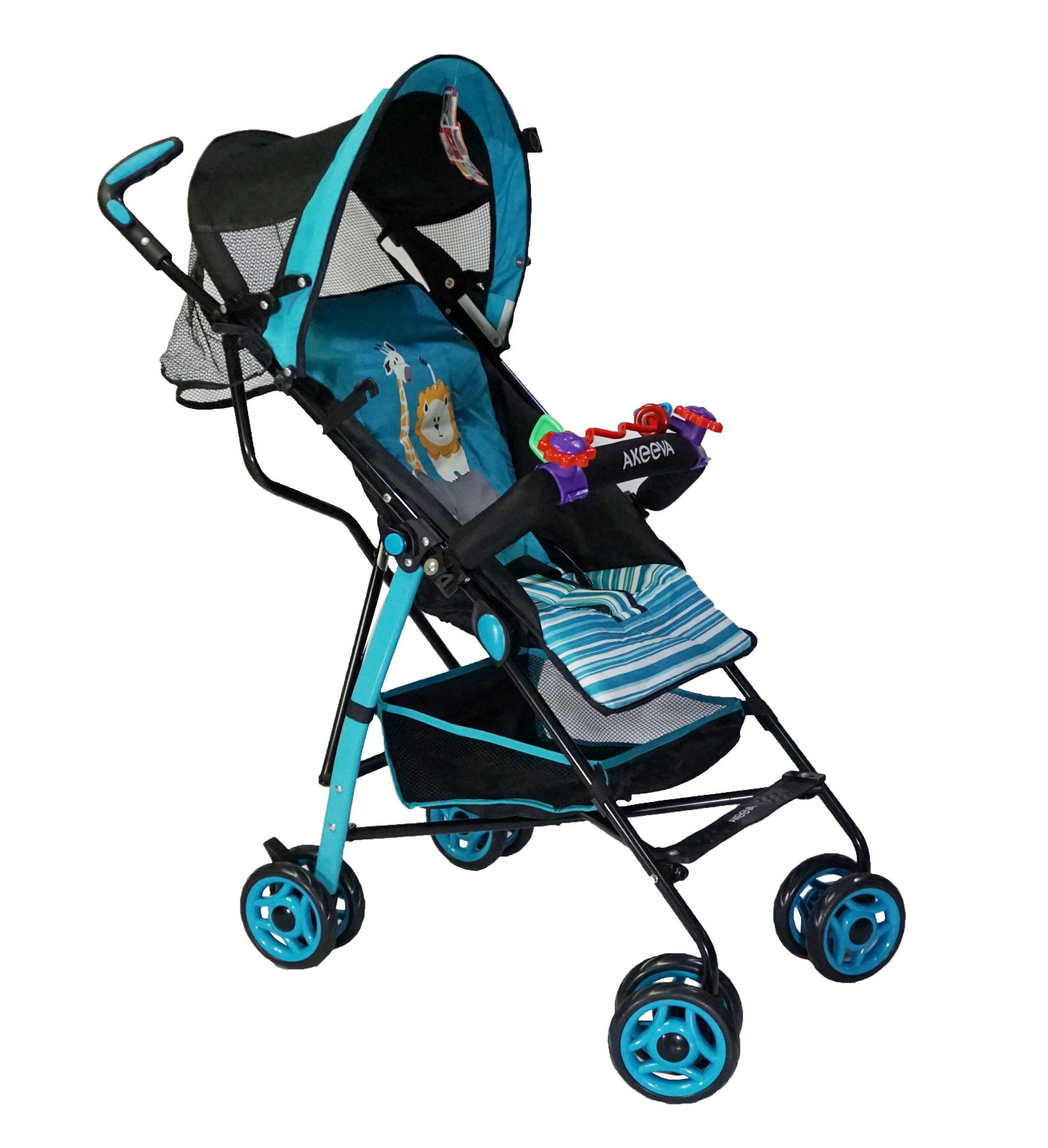 Akeeva Lightweight Umbrella Stroller Blue
