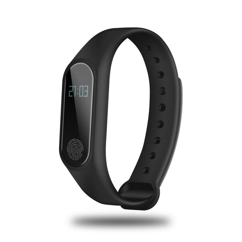OXG 0.42 inch OLED Đeo Thông Minh Bluetooth Đo Nhịp Tim Hiển Thị Thời Gian Đeo Thông Minh