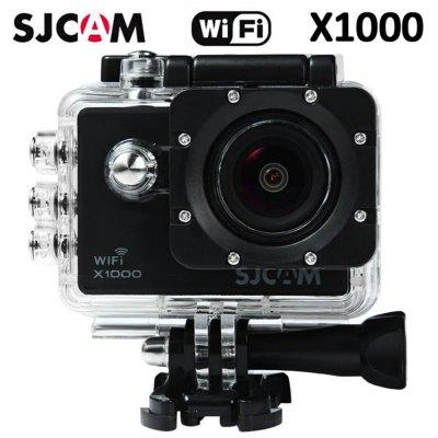 SJCAM-X1000 Wifi 2.0 1080p H.264 Action Camera(Black)  Original SJCAM X1000 1080P Sport Camera - BLACK