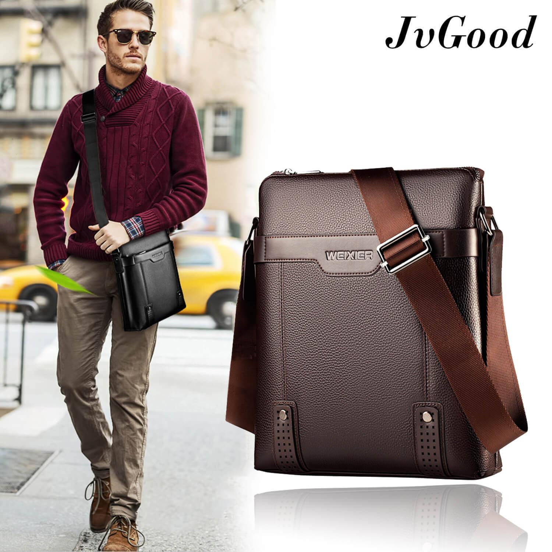 3 Color Casual Messenger Bag Men Male PU Leather Shoulder Flap Fashion Crossbody