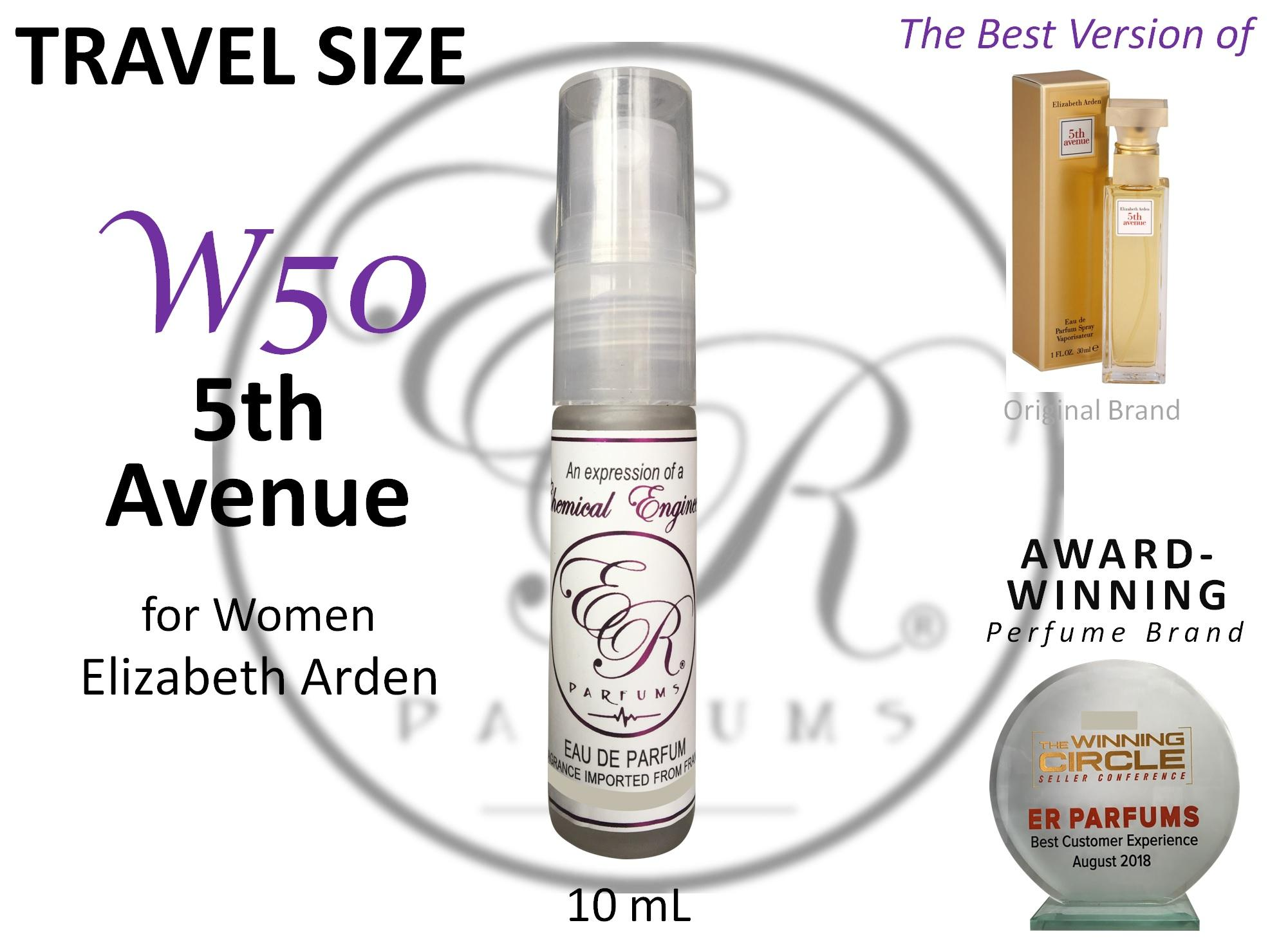 ER PARFUMS W50 5th Avenue for Women by Elizabeth Arden 1 piece 10 ml TRAVEL SIZE - BEST VERSION