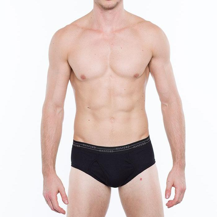 Hanford Men's Primo Hipster Briefs (3in1 Pack)