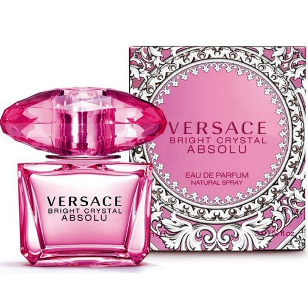 VERSACE BRIGHT CRYSTAL ABSOLU WOMENS PERFUME 90ML