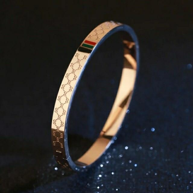 f6daa08d1 Product details of Gucci Bangle Stainless Gold,Rosegold,Silver