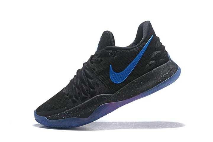 Sepatu Basket Nike_Original Kyrie_Irving 4 Rendah EP Pria Basketaball Sepatu Penjualan Global Kuning Hitam