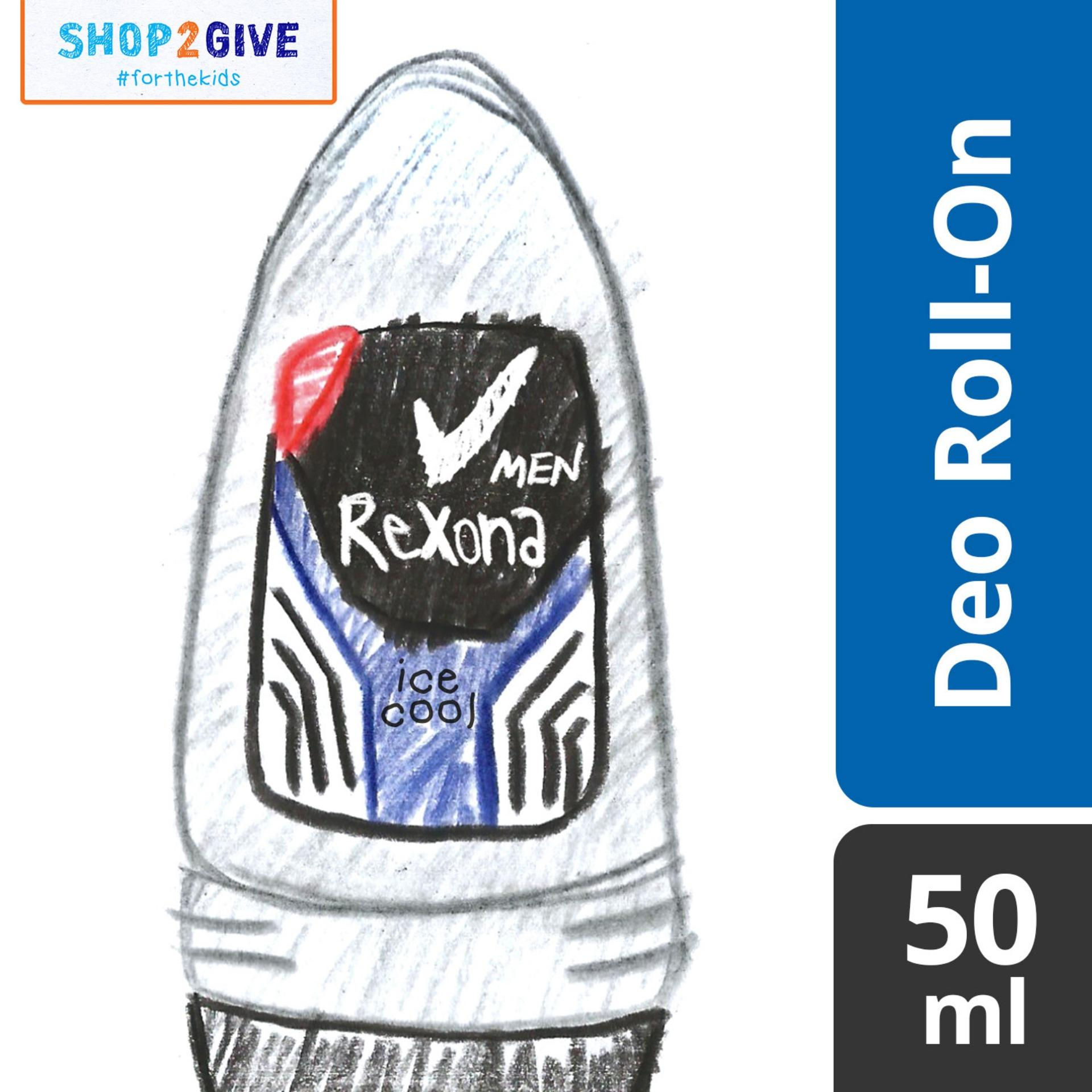 Best Gifts For Your Bae Mens Care Nivea Men Deodorant Dry Impact Roll On 50ml Rexona Ice Cool
