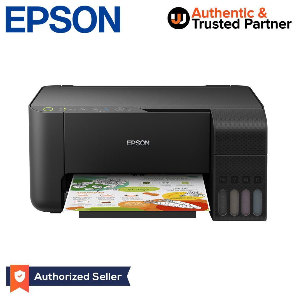 Epson EcoTank L3150 Wi-Fi All-in-One Tank Printer (Black)