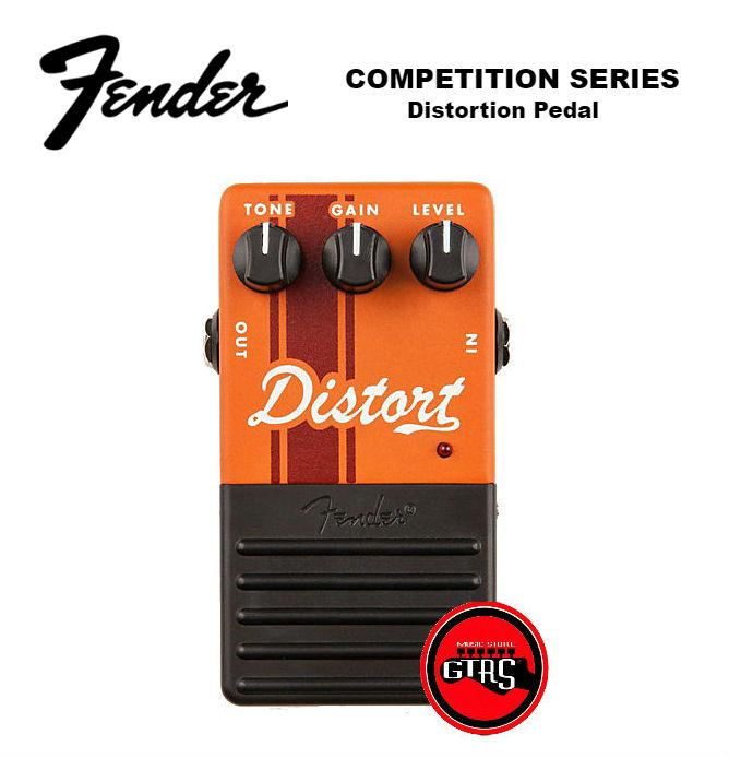 NEW FENDER  DRIVE GUITAR EFECTS PEDAL COMPETITION SERIES