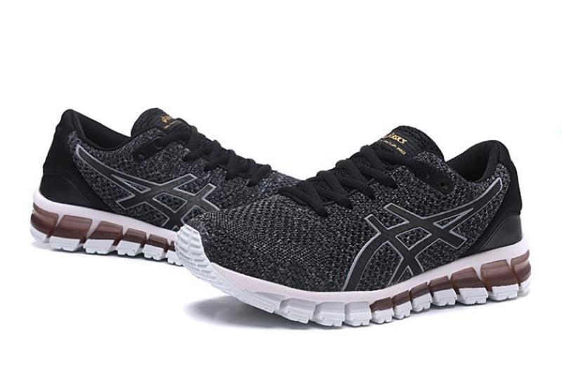 "huge selection of fd8bd 9841b Asics Official ""ONITSUKA TIGER"" Gel Quantum 360 KNIT 2 Black White MEN  Running Shoe High Quality"