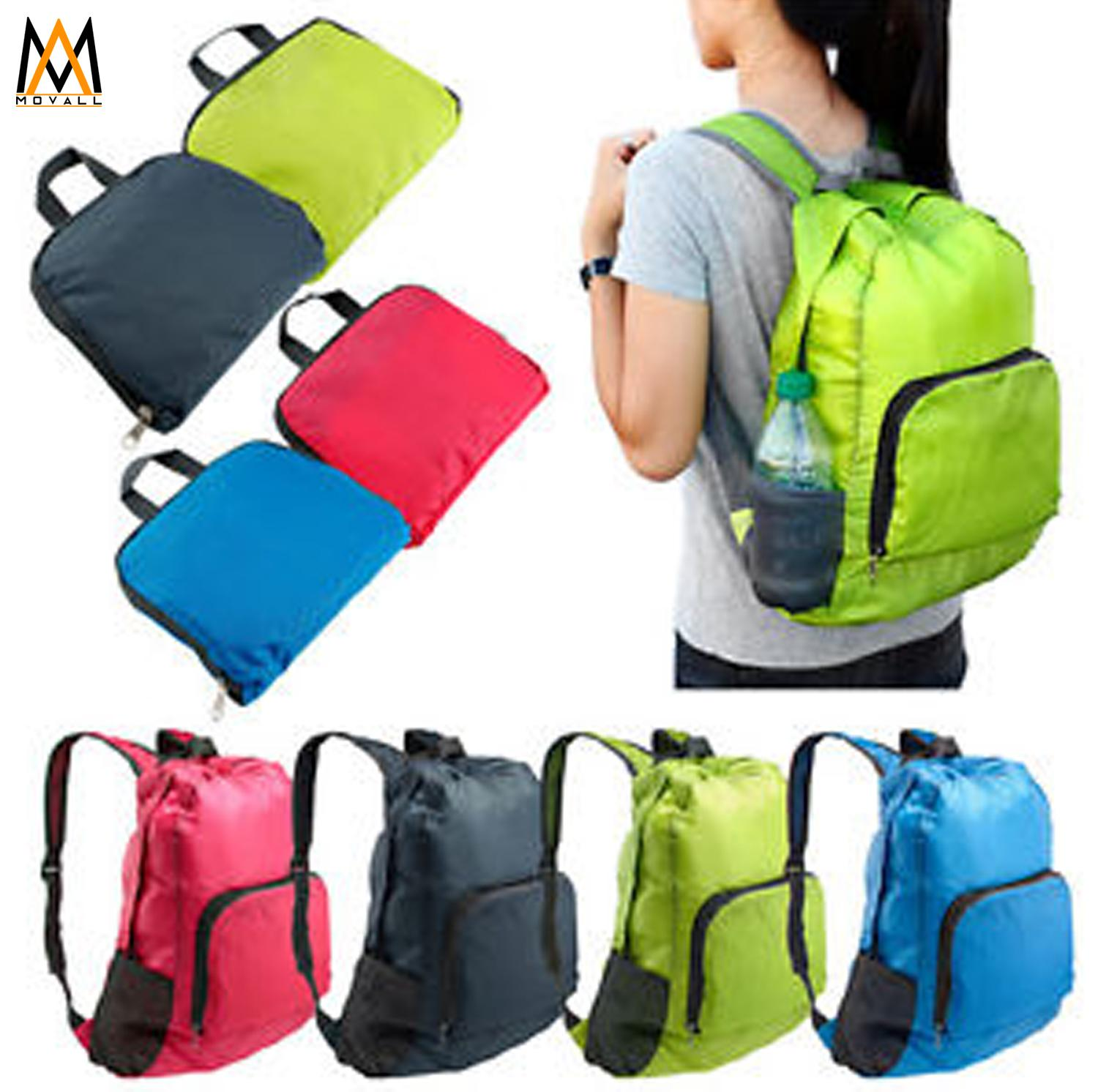 Lightweight Nylon Travel Backpack Waterproof Foldable Bag