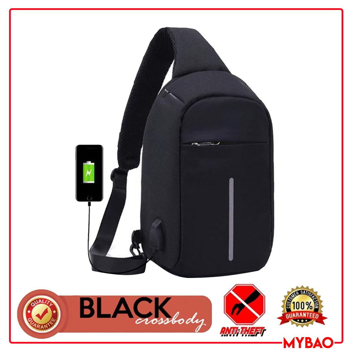 MYBAO  MEN ANTI-THEFT CHEST CROSS BODY BAG