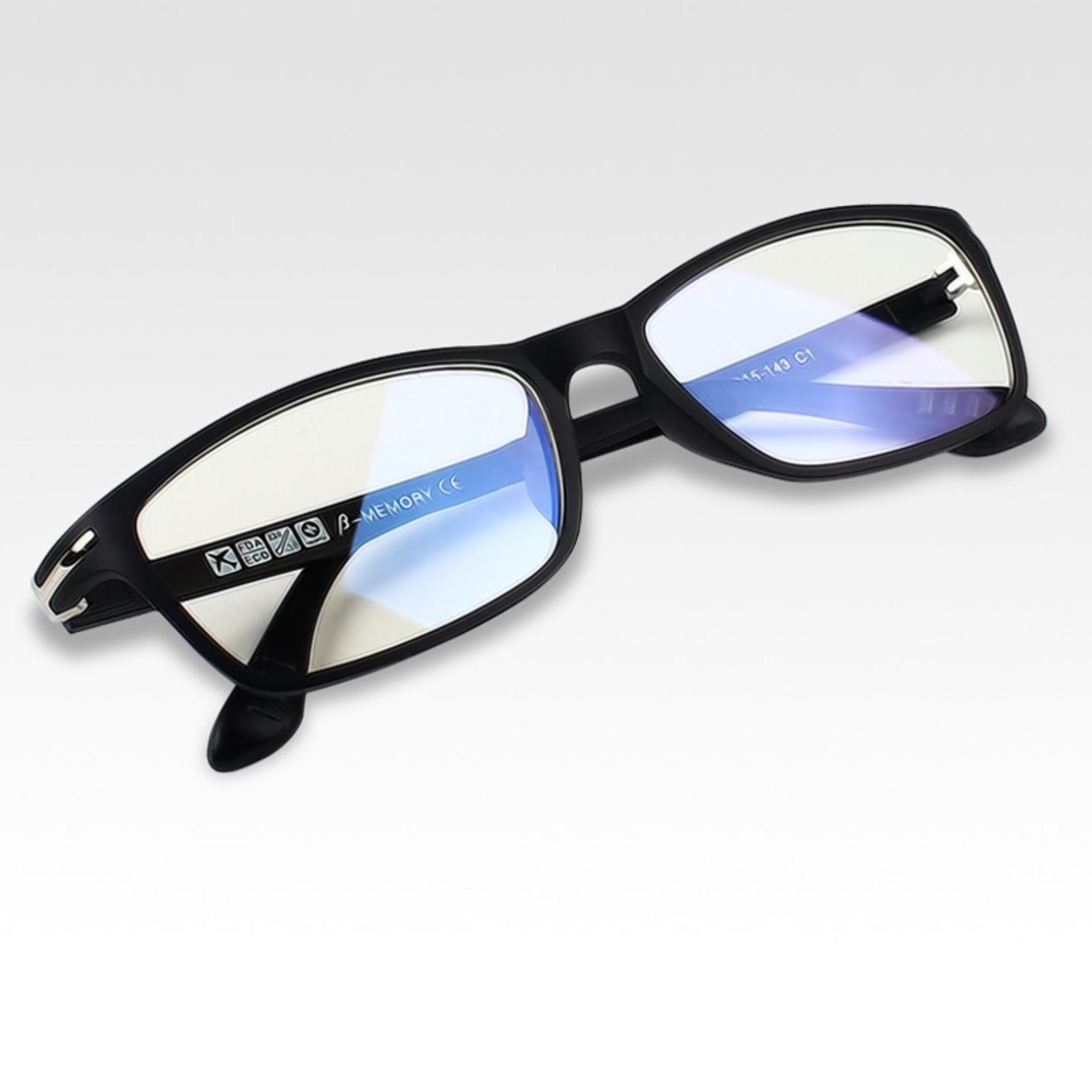 KATELUO Tungsten Computer Goggles Anti Fatigue Radiation-resistant Glasses Frame Eyeglasses 13025 | Lazada PH