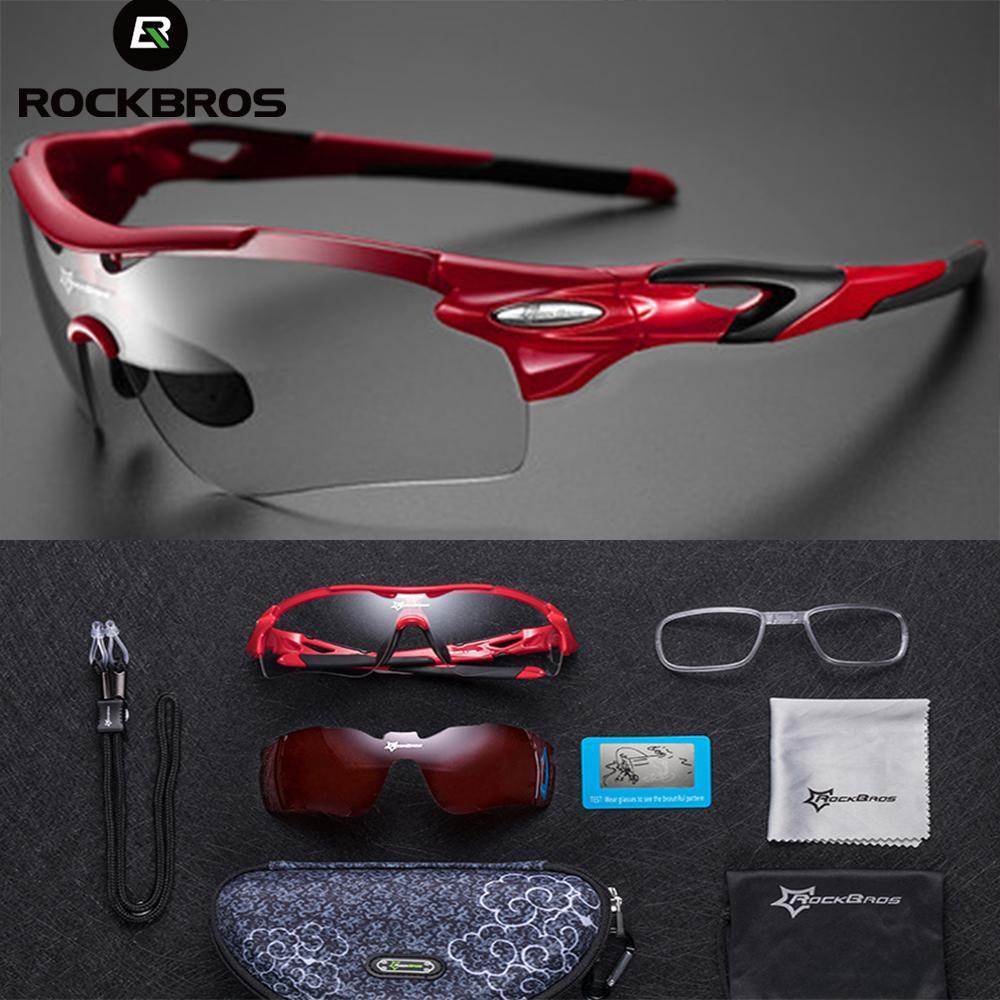 RockBros Sunglasses Double Lens Polarized Outdoor Sports Glasses Goggles