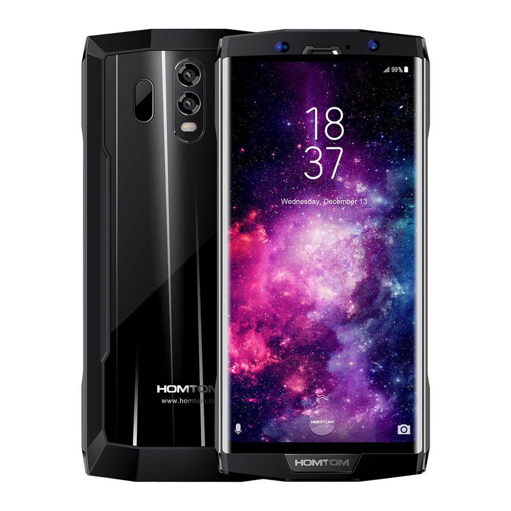 Crazy DealHOMTOM HT70 Mobile Phone 4GB 64GB 6-Inch Bezel-less 18:9 1440*720 Pixels HD+ Display MTK6750T Octa-core 1.5GHz 13MP Front 16MP+5MP Dual Rear Cameras Android 7.0 Fingerprint Identification