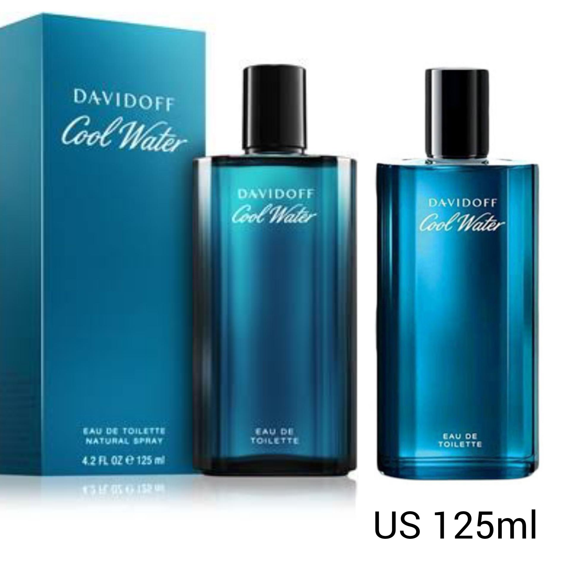 DAVIDOFF COOL WATER MENS PERFUME EAU DE TOILETTE 125ML