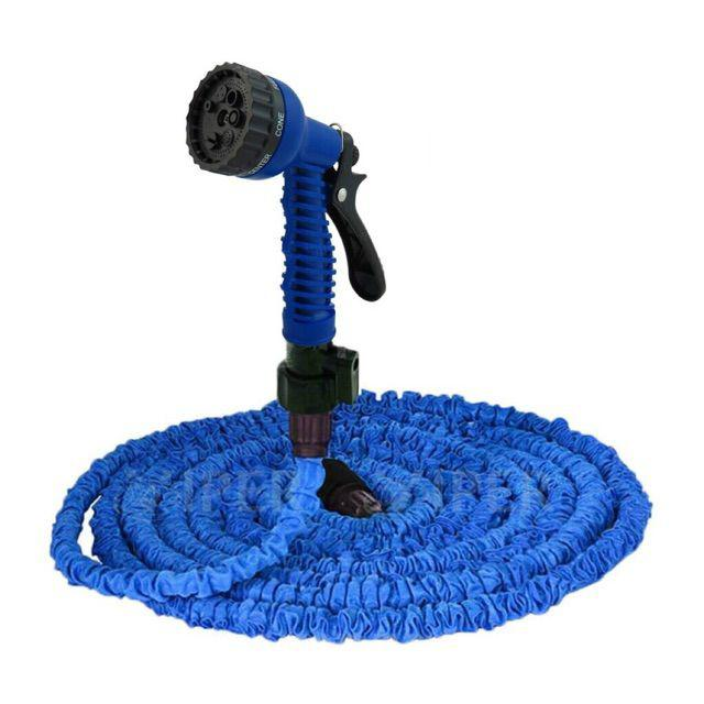 Keimav Expandable 50ft Flexible Garden Hose (Blue)