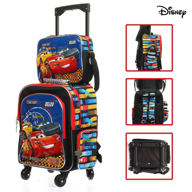 e93816fc537e Disney Cars Lightning Mcqueen Backpack Trolley