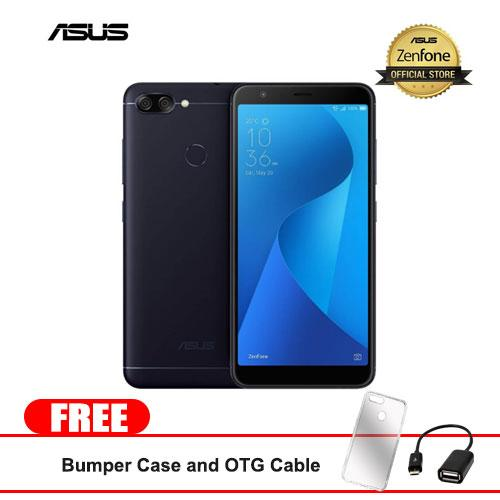 "Asus Zenfone Max Plus 32GB 5.7 ""(Black) Mobile Phone With Free Bumper Case and OTG Cable."