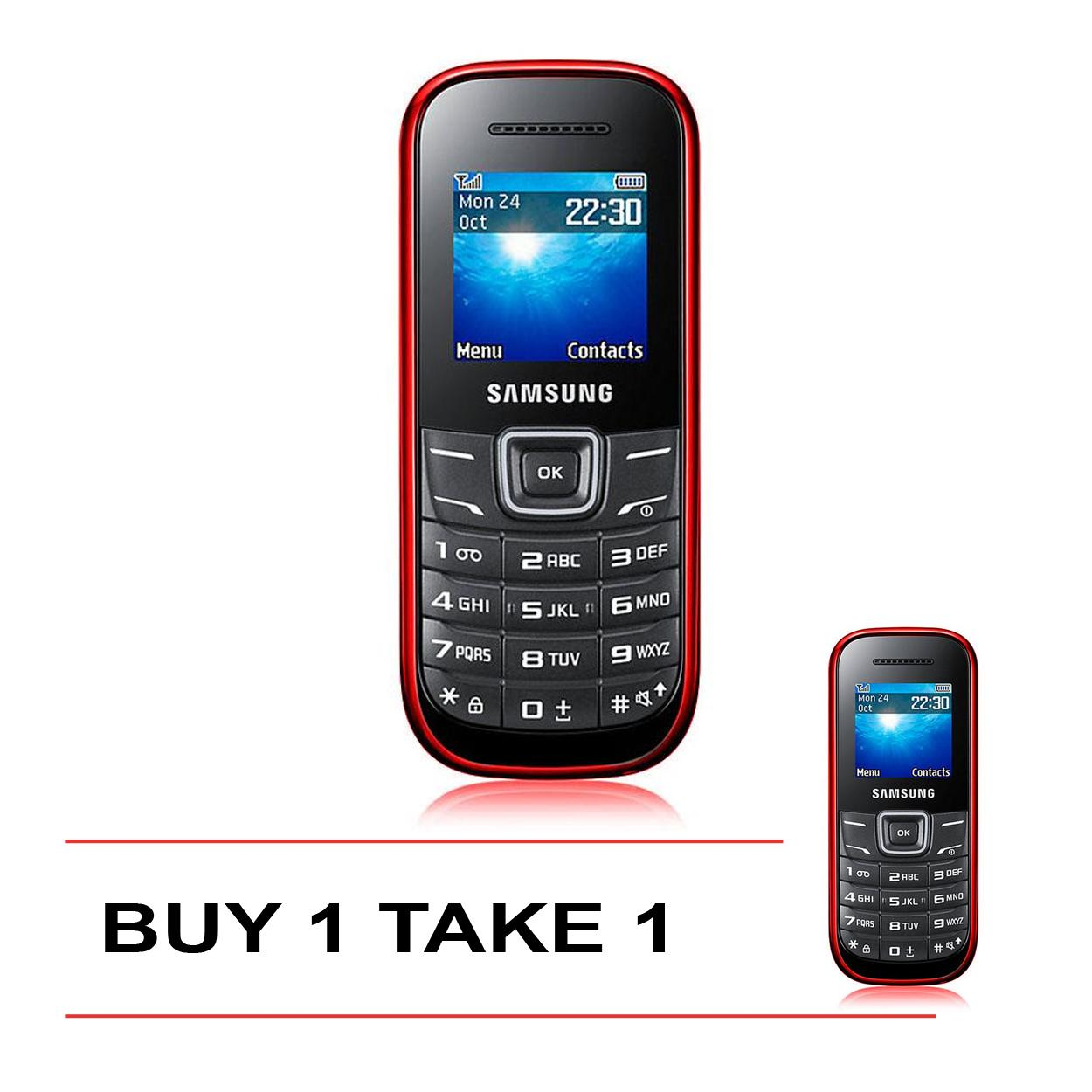 Sam-Sung Keystone V1200 Mobile Phone Buy 1 Take 1