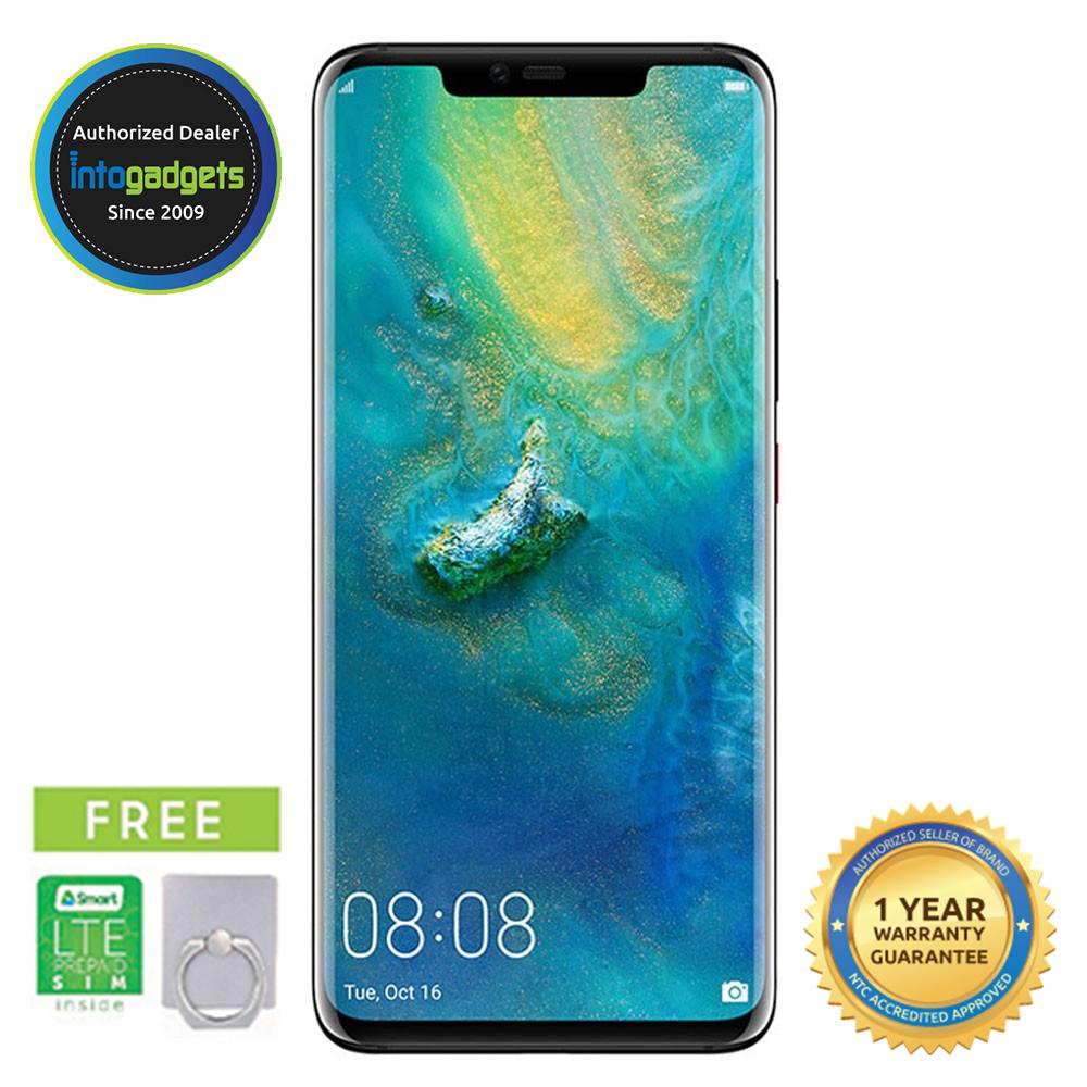 Huawei Mate 20 Pro 6GB RAM 128GB ROM FREE LTE Sim and Ring Holder