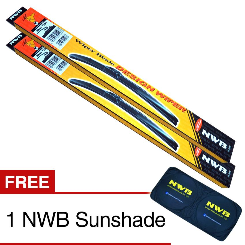 NWB Design Wiper Blade for Honda City 2010 - (SET)