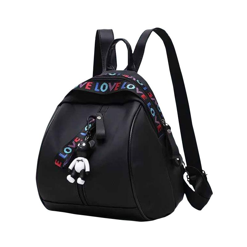 Skyway #355 Stylist Love Fashion Backpack With Cute Keychain Korean Backpack