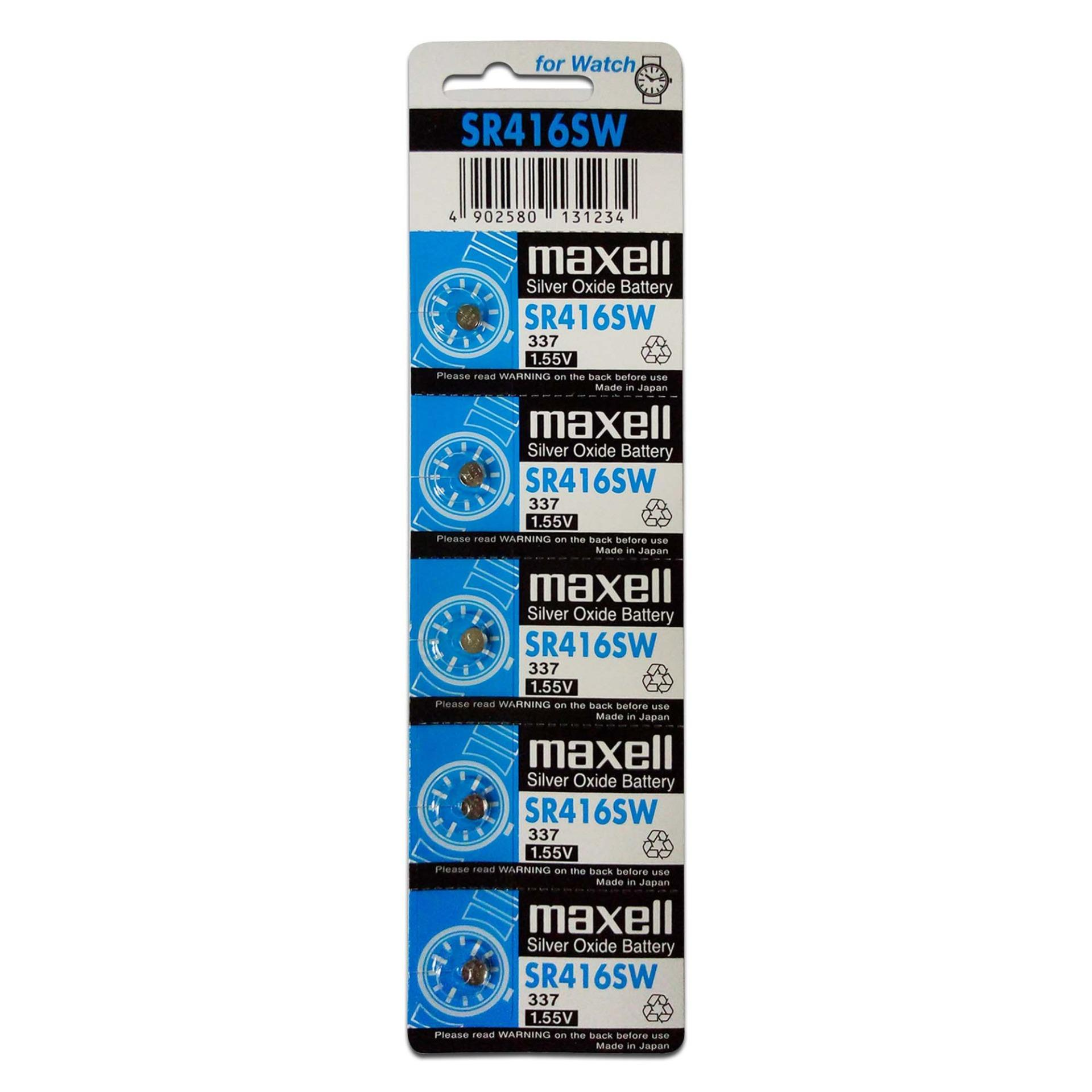 Maxell SR416 Button Cell Pack of 5