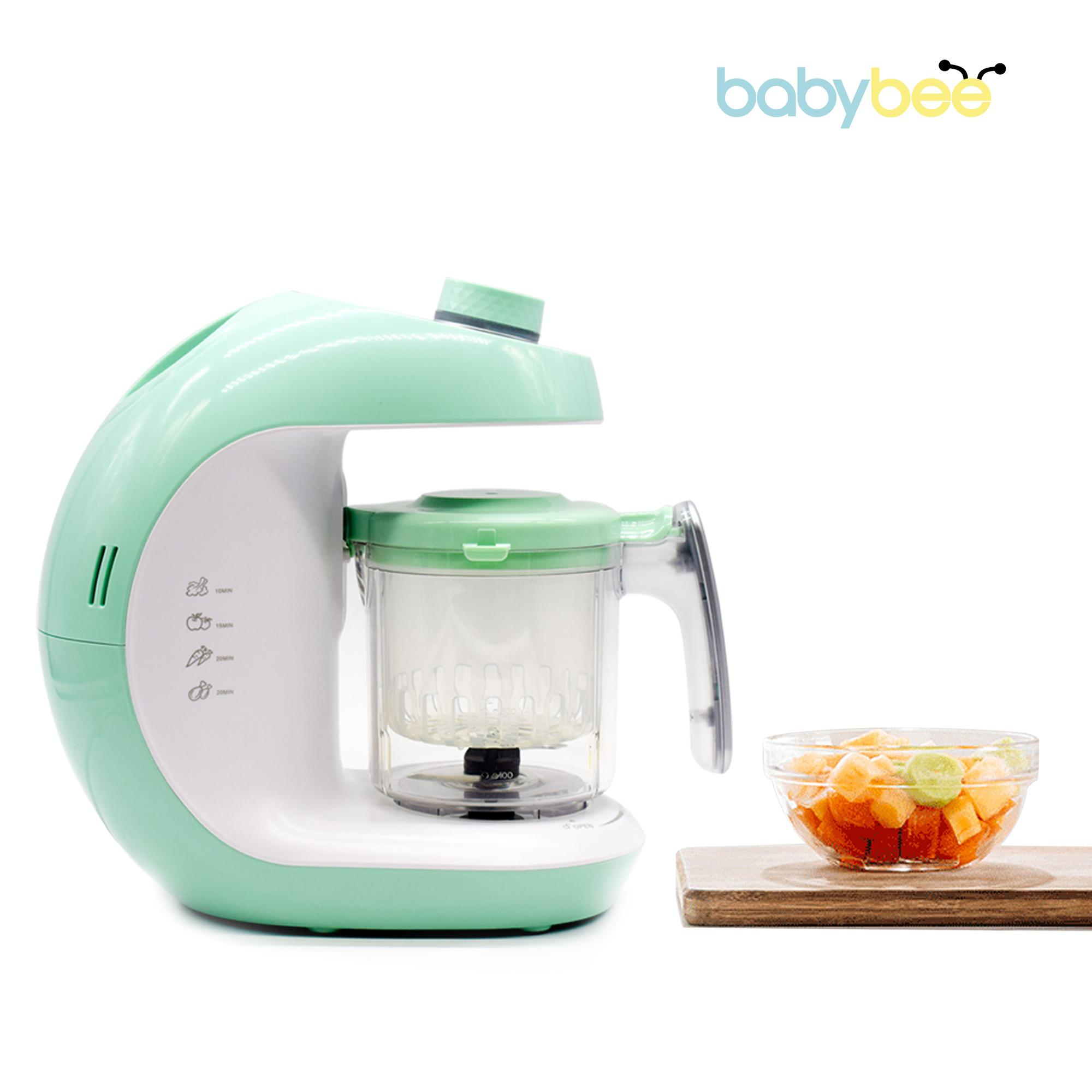 Babybee Food Maker, Steamer and Blenders with Milk Bottle Warmer  image on snachetto.com