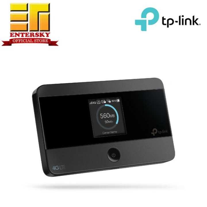 tp link m7350 4g lte advanced mobile wifi modem black. Black Bedroom Furniture Sets. Home Design Ideas