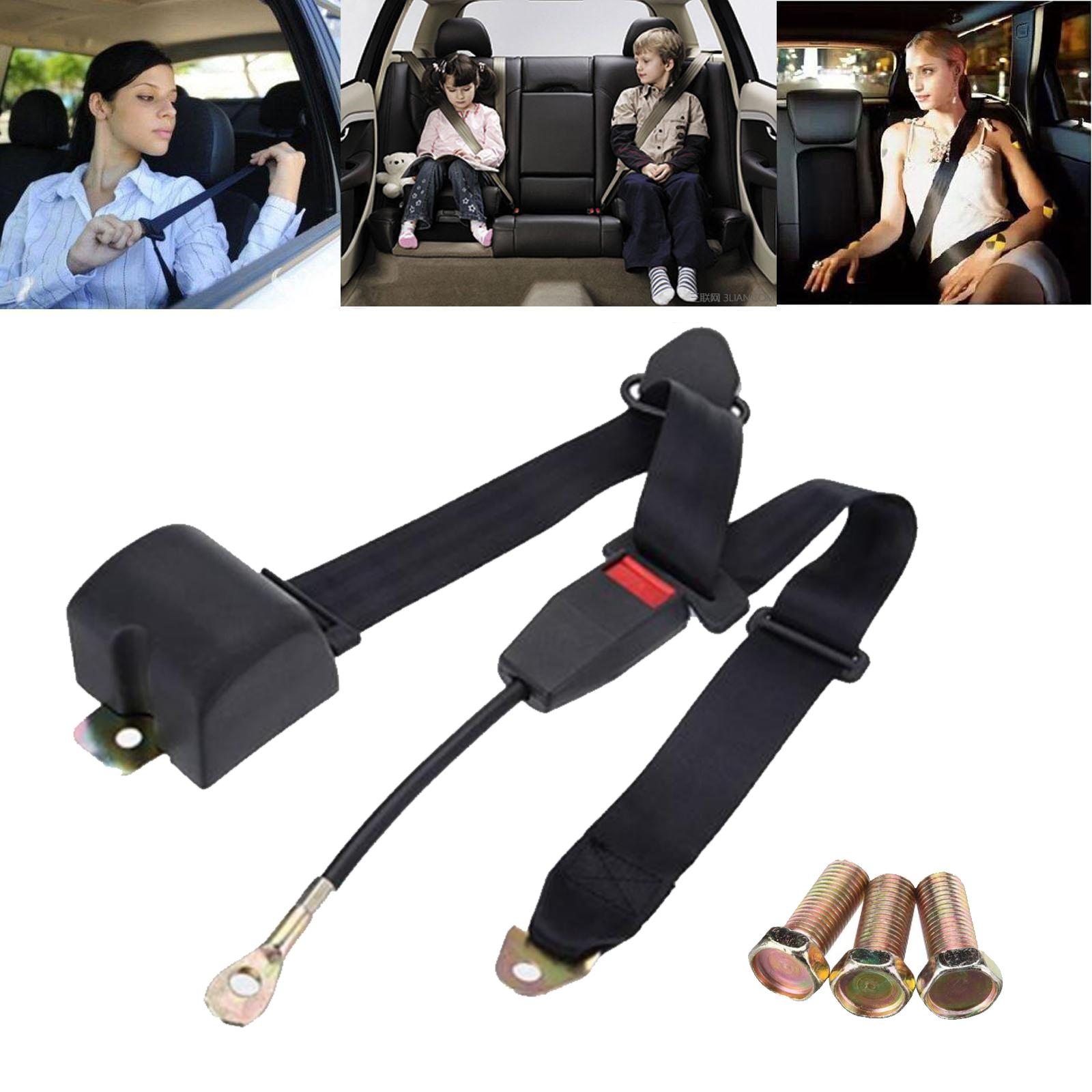 Car Passenger Car 3 Adjustable Point Automatic Driver Seat Belt Bus Automatic Shrink Seat Belt Before and After Universal