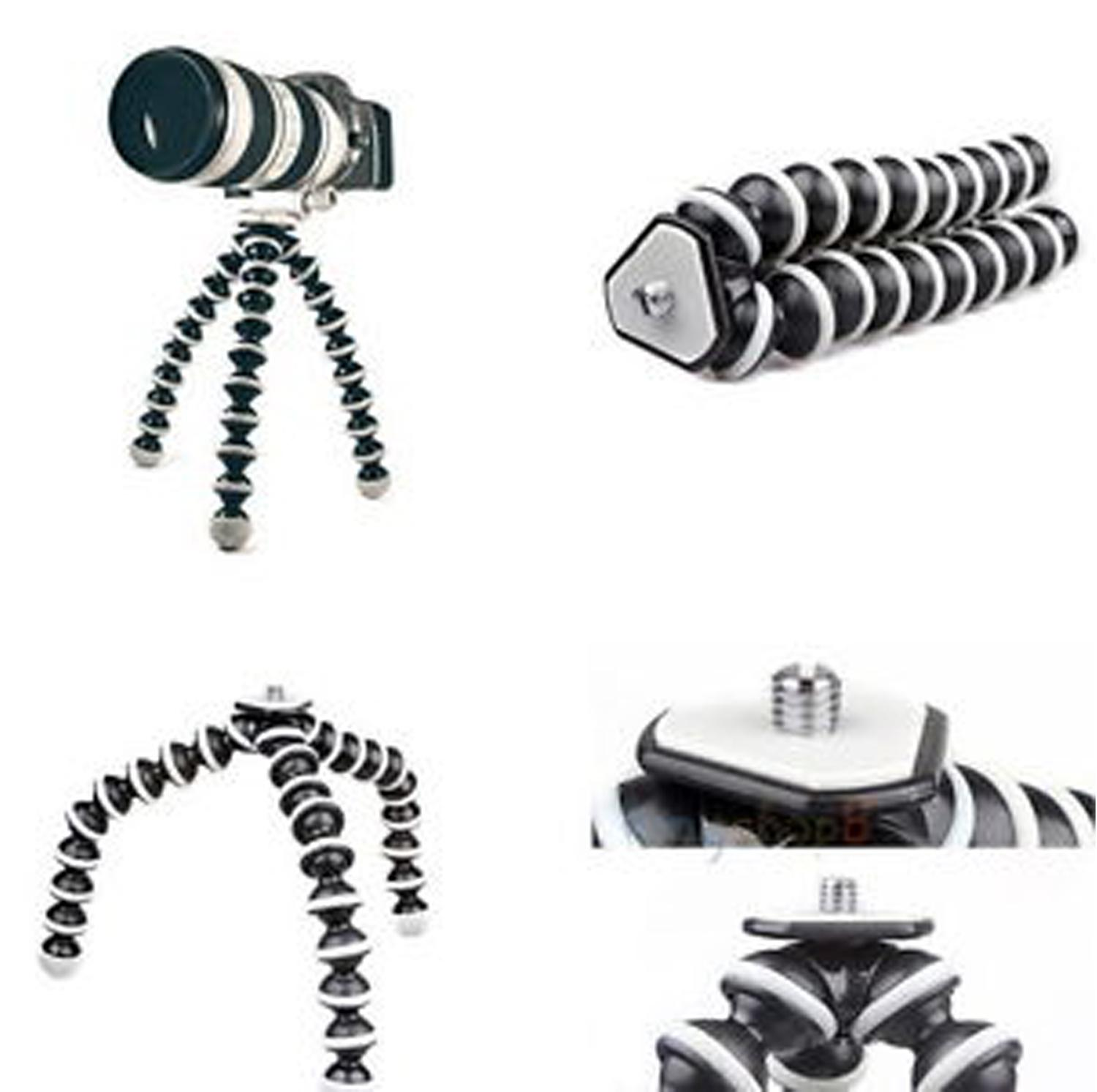 Gorilla pod Large Octopus Flexible Tripod Stand