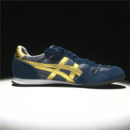 "Brand Asic Original ""ONITSUKA Tigers"" Serrano Blue White Sneakers Running Shoe WOMEN"