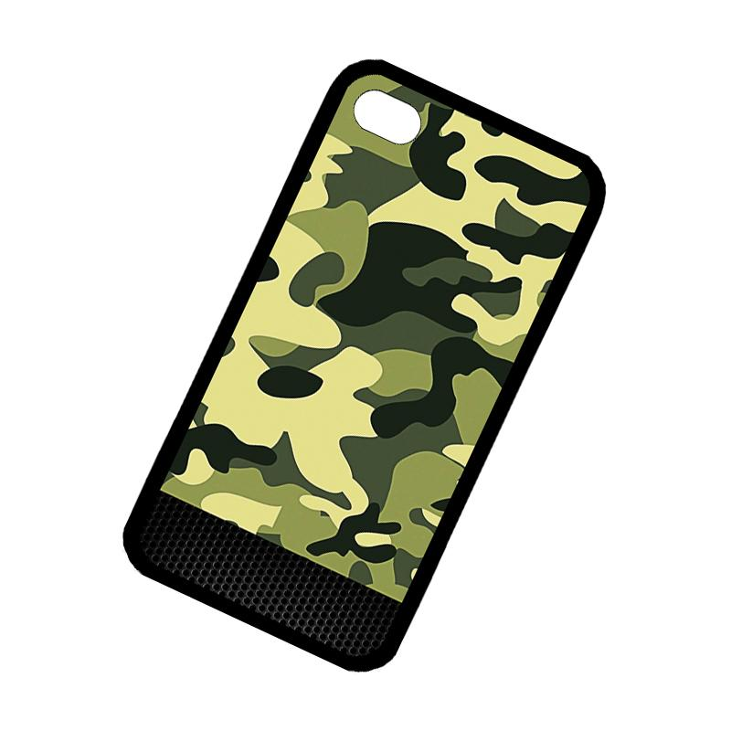 Camouflage color Phone Case For Apple iPhone 4 4s - intl