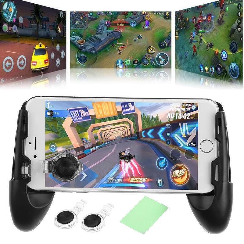 New Latest Gamegrip with Joystick extended gamepad for all smartphones Iphone and Android mobile legends