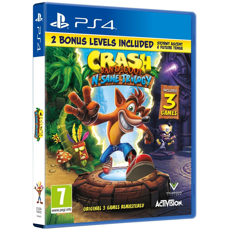 PS4 Crash Bandicoot Bonus Edition