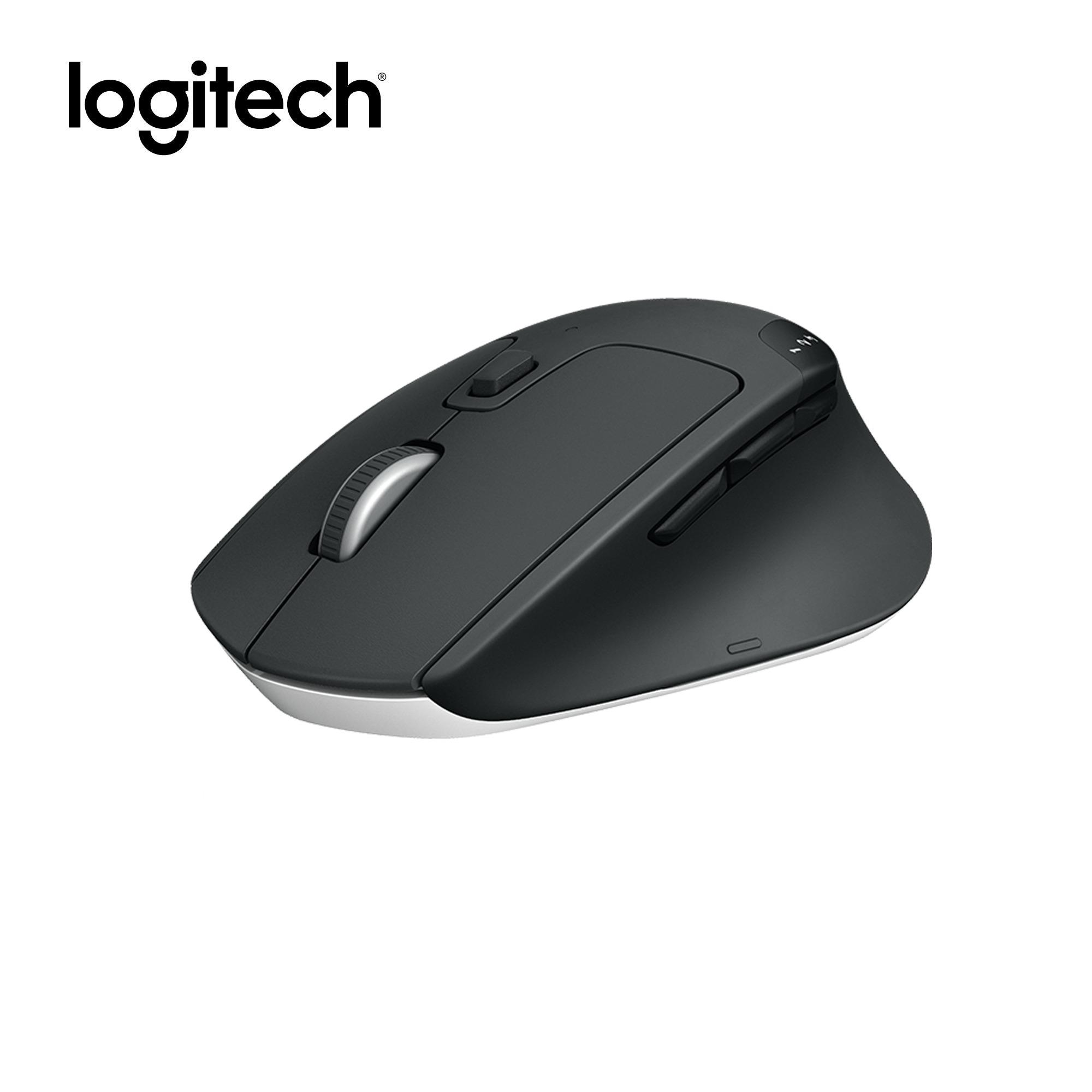 Logitech M720 Triathlon Multi-device Wireless Optical Mouse, Pair your  mouse with 3 computers, Hyper fast Scrolling, Bluetooth Smart and 2 4GHz