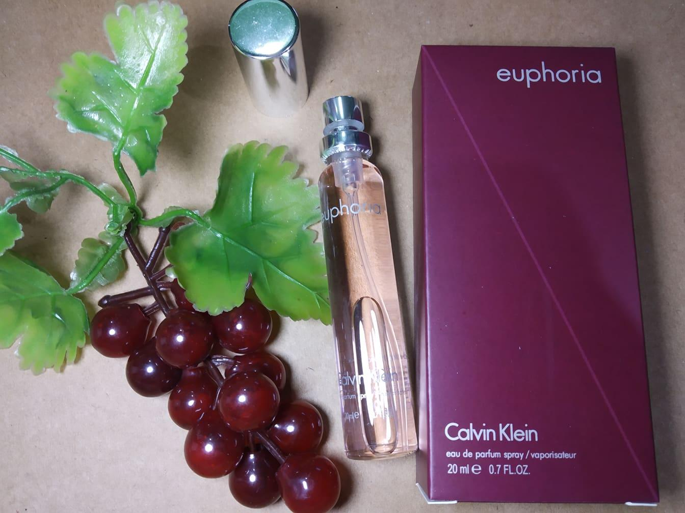 Tester Perfume Euphoria by Calvin Klein For Women 20ml