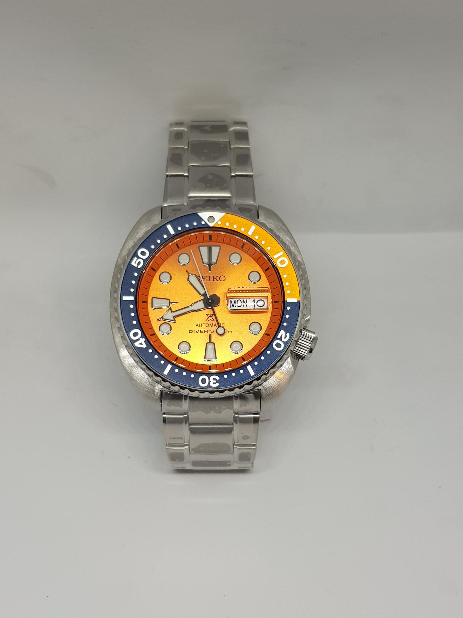 best value 3d5a8 2eb0f Seiko Prospex SRPC95K1 DIVERS WATCH Limited Edition Orange Turtle 200meters  water resist