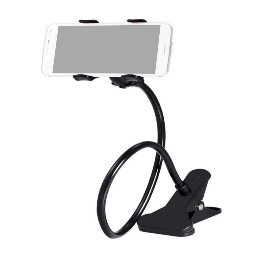 Lazypod with Universal Mobile Phone Holder (Black)