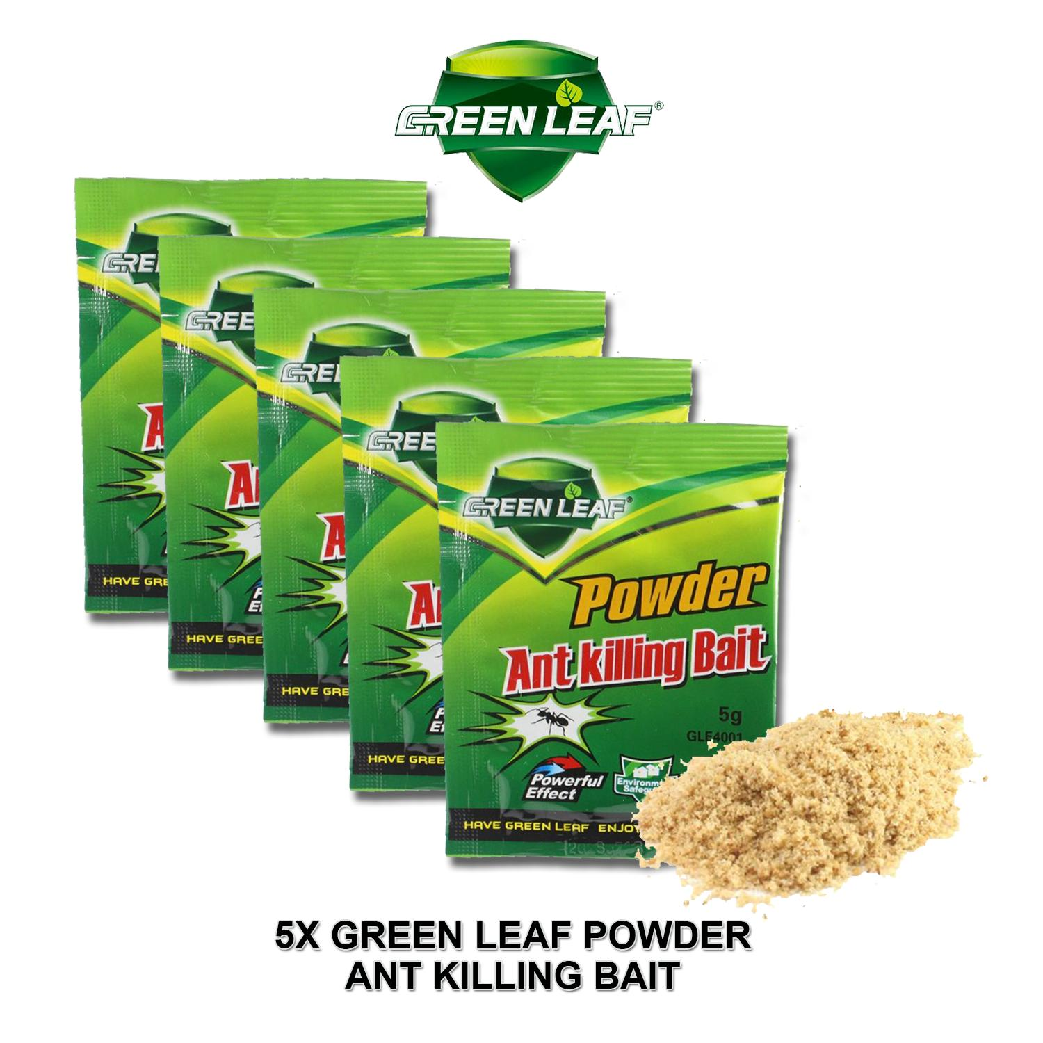 Effective Green Leaf Powder Ant Killing Bait (5 pieces) --pests, insect and bugs killer insecticides pesticides, trap image on snachetto.com