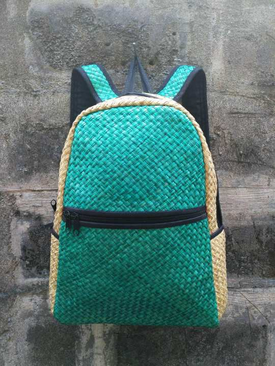 Hand Woven Native Backpack