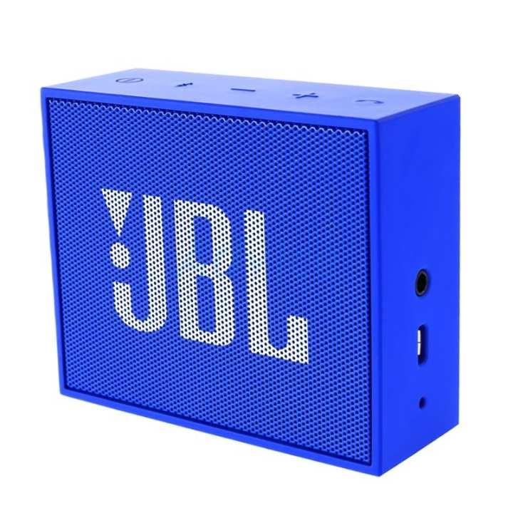 JBL Go Portable Bluetooth Speaker With Speaker Phone Function (Blue)