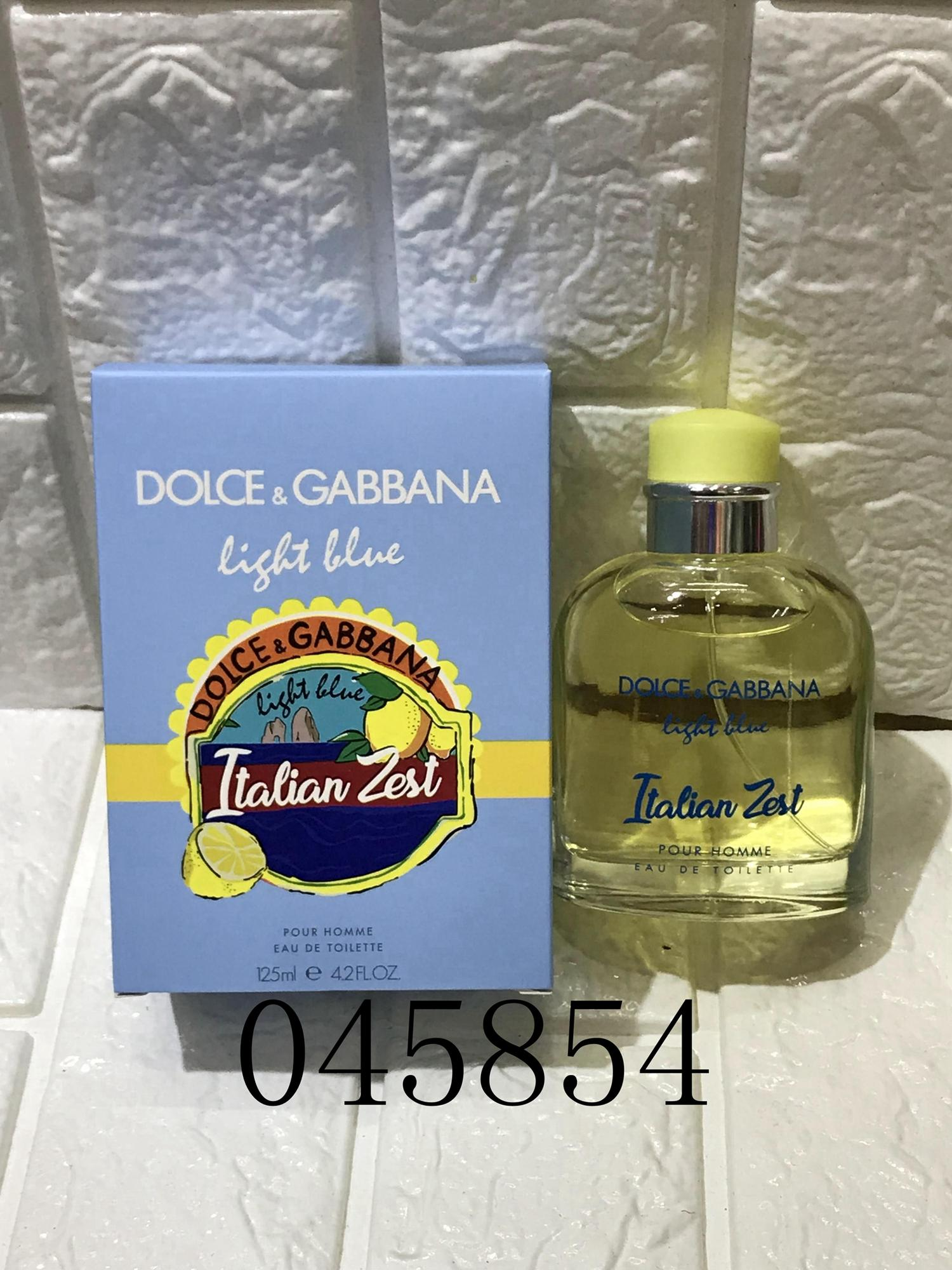 D & G Light Blue Perfume*