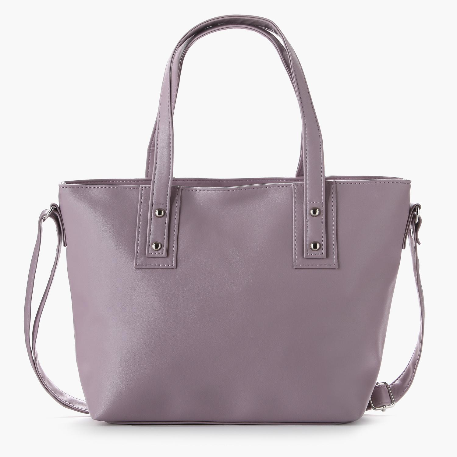 Parisian Ladies Zakiva Tote Bag (Lilac)