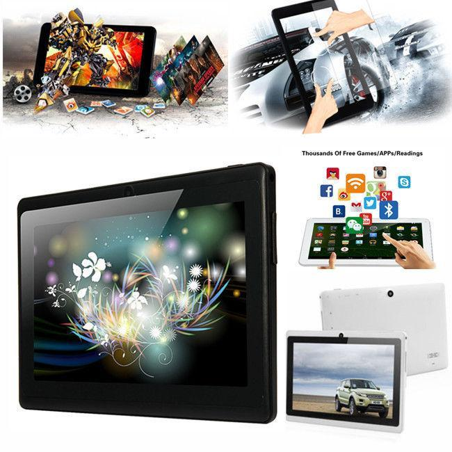 7 Inch 16G A33 Quad Core Dual Camera Google Android 4.4 HD Tablet PC WIFI AU