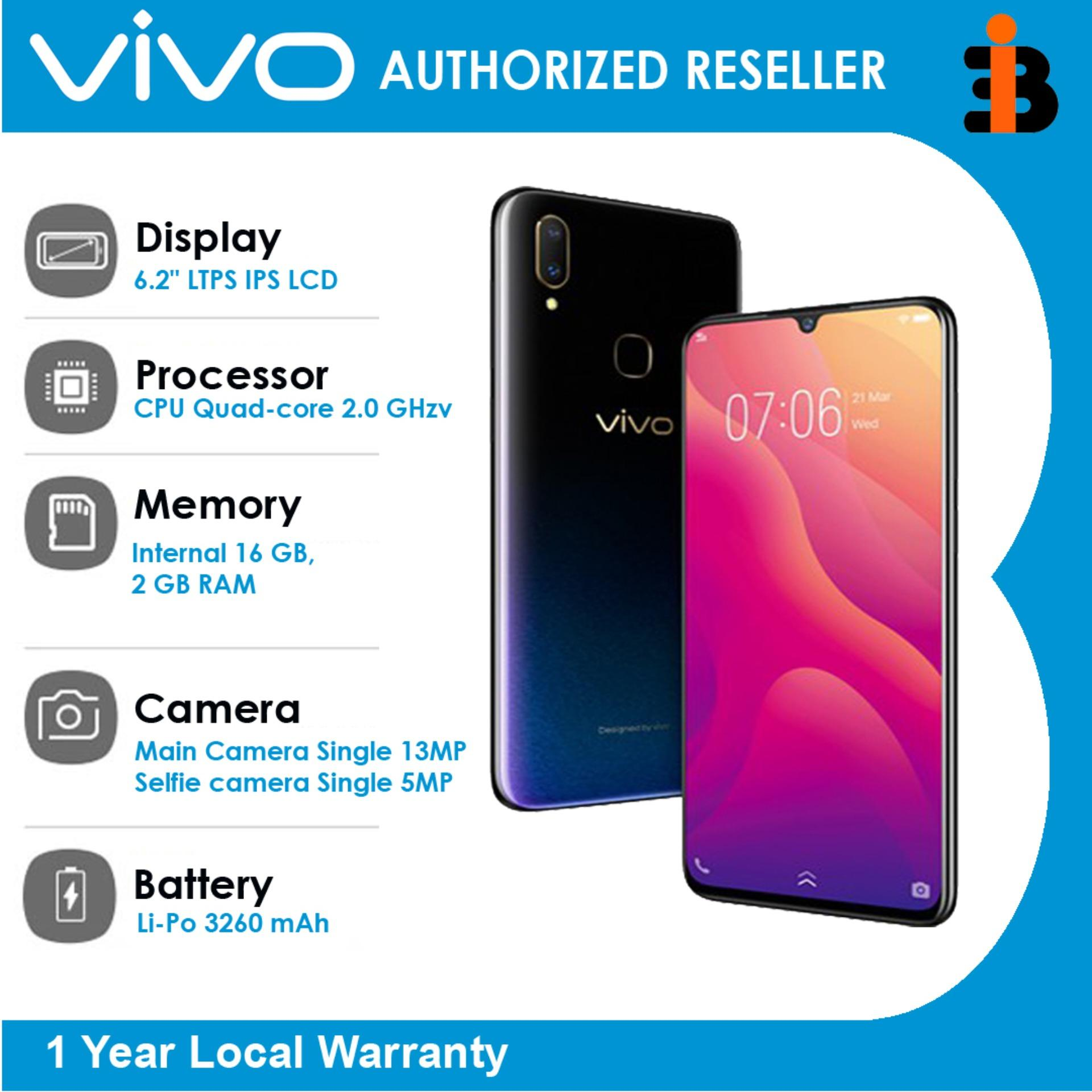 "Vivo V11i 6.3"" Internal 128 GB+4GBRAM, Main Camera Dual 16MP+5MP,Selfie 25MP, OS Android 8.1 (Oreo),CPU Octa-core,Li-Po 3315 mAh battery With 1 Year Local Warranty Authentic/Original Mobile Phone"