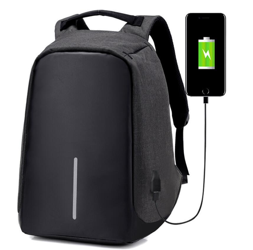 Anti Theft Backpack With USB Charger Anti Theft Bag